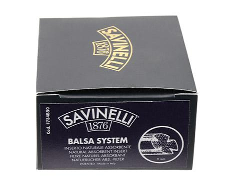Pipe Tools & Supplies Savinelli 9mm Balsa Filters (50 Count)