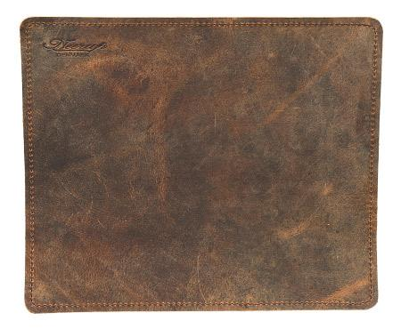 Pipe Accessories Neerup Leather Tobacco Mat Medium Brown