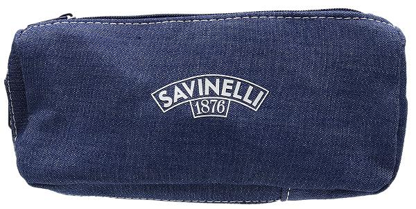 Pipe Accessories Savinelli Cloth 1 Pipe Combo Pouch Jeans