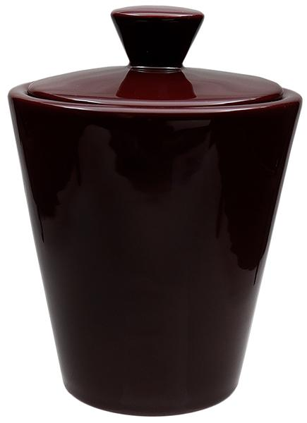 Pipe Accessories Savinelli Ceramic Tobacco Jar Maroon