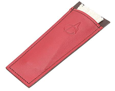 Pipe Accessories Claudio Albieri Leather Cleaners Holder Burgundy
