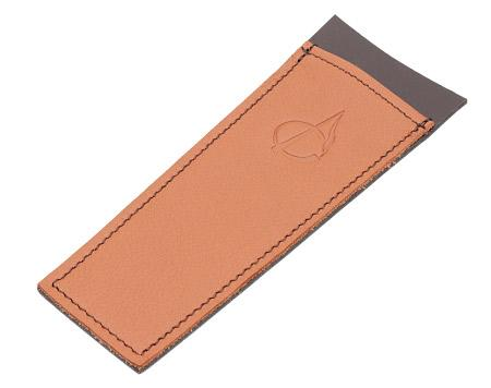 Pipe Accessories Claudio Albieri Leather Cleaners Holder Russet