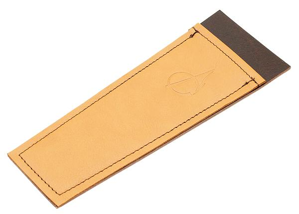 Pipe Accessories Claudio Albieri Leather Cleaners Holder Tan