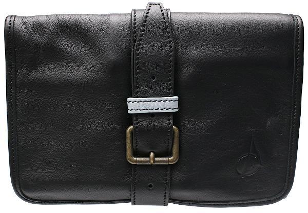 Pipe Accessories Claudio Albieri Italian Leather Elegance Rollup Black/Light Blue