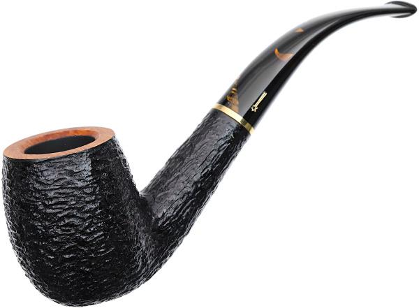 Savinelli Oscar Tiger Rusticated (606 KS) (9mm)
