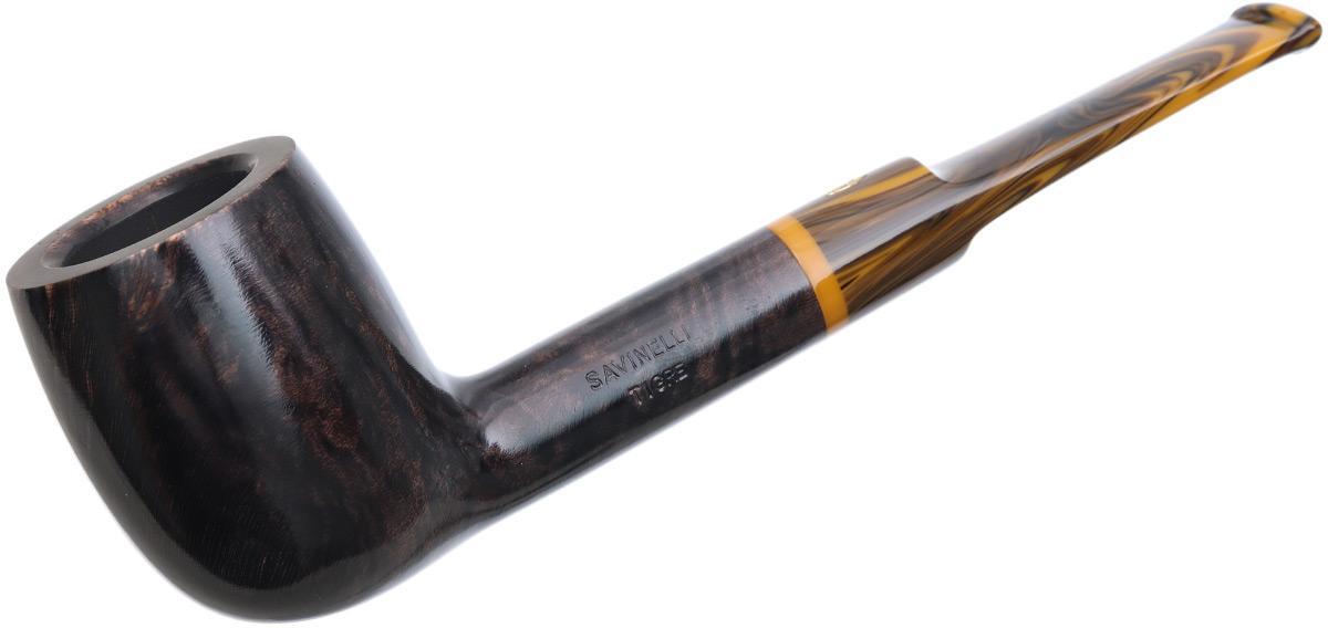 Savinelli Tigre Smooth Dark Brown (114 KS) (9mm)
