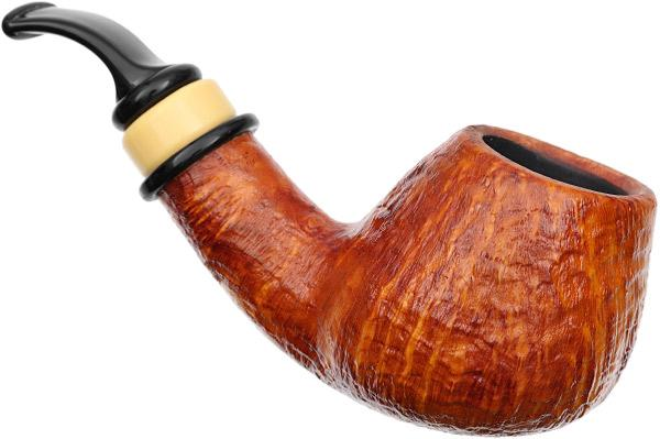 Neerup P. Jeppesen Handmade Ida Easy Cut Sandblasted Bent Brandy (3) (9mm)
