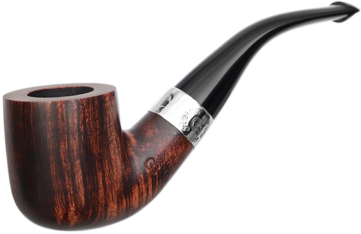 Peterson Aran Smooth Nickel Mounted (01) P-Lip
