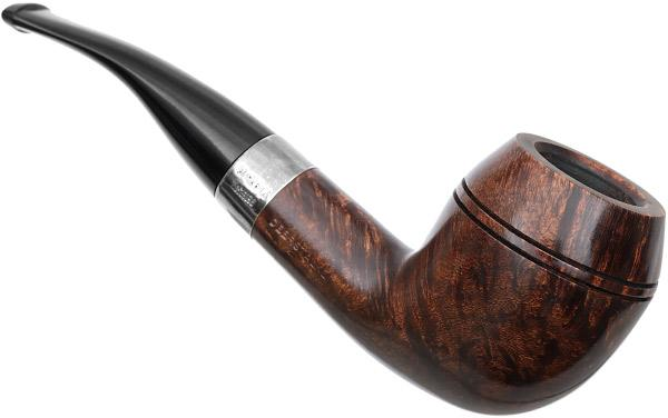 Peterson Sherlock Holmes Smooth Dark Deerstalker Fishtail (9mm)