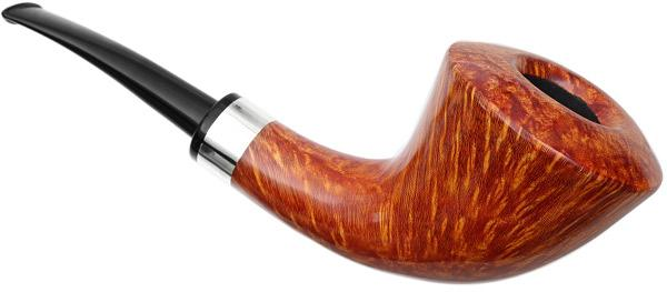 Winslow Smooth Bent Dublin with Silver (C)