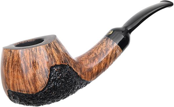 Crown Partially Rusticated Bent Pot (9mm) (Viking)
