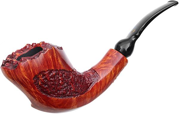 Winslow Crown Partially Rusticated Bent Dublin (Viking)