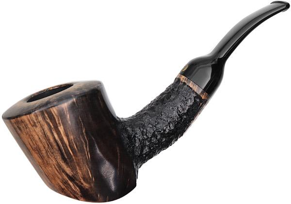 Crown Partially Rusticated Bent Dublin Freehand (Viking)