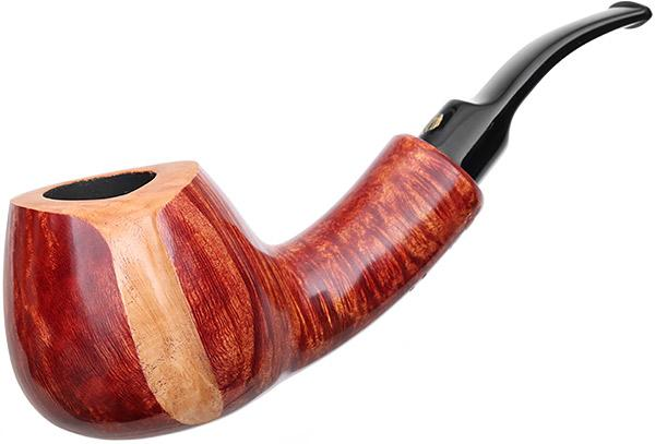 Winslow Crown Smooth Bent Brandy (9mm) (200)