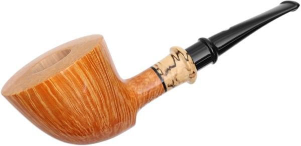 Claudio Cavicchi Smooth Bent Dublin with Olivewood (CCCCC)