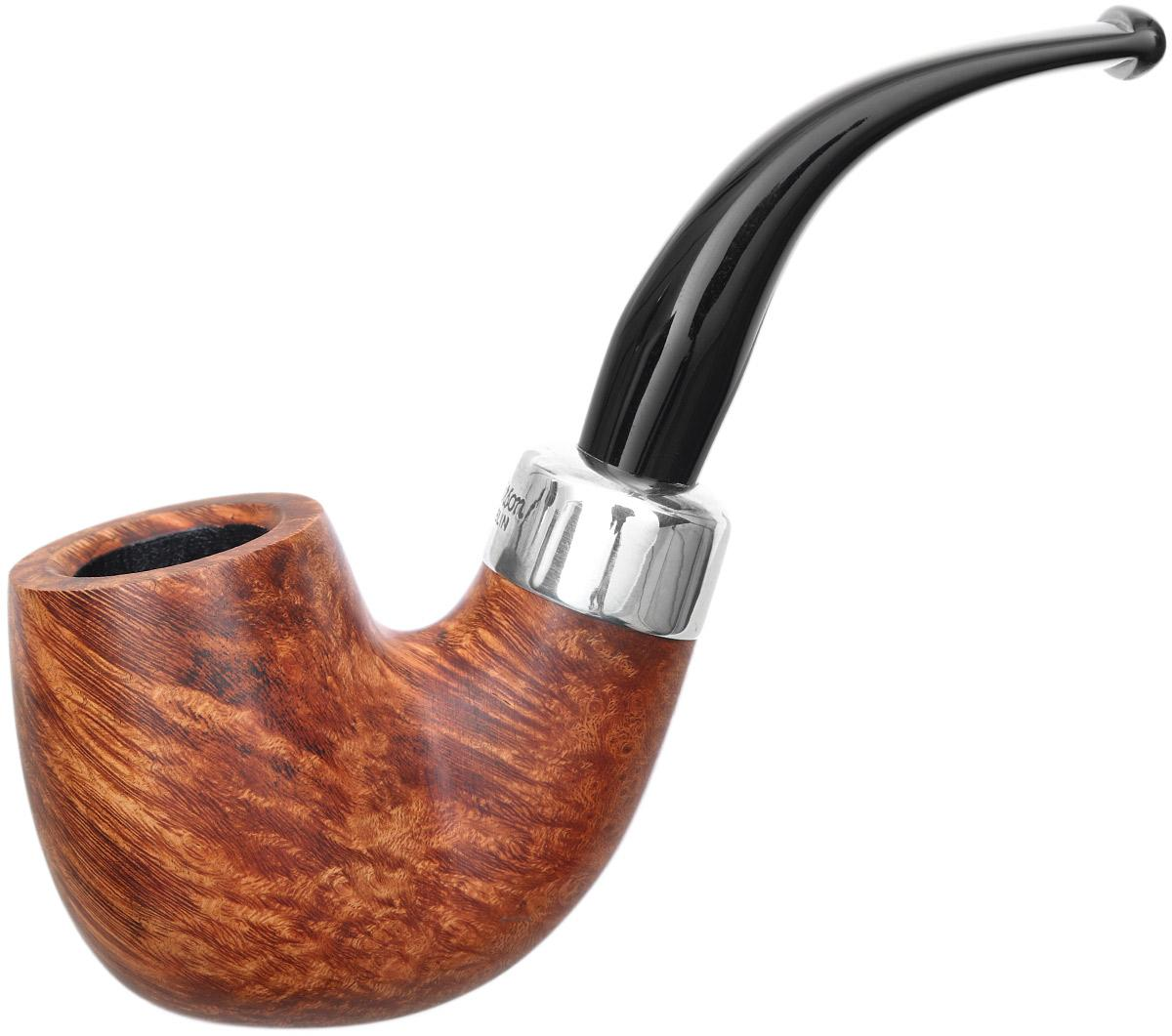 Irish Seconds Smooth Bent Billiard with Army Mount Fishtail (2)
