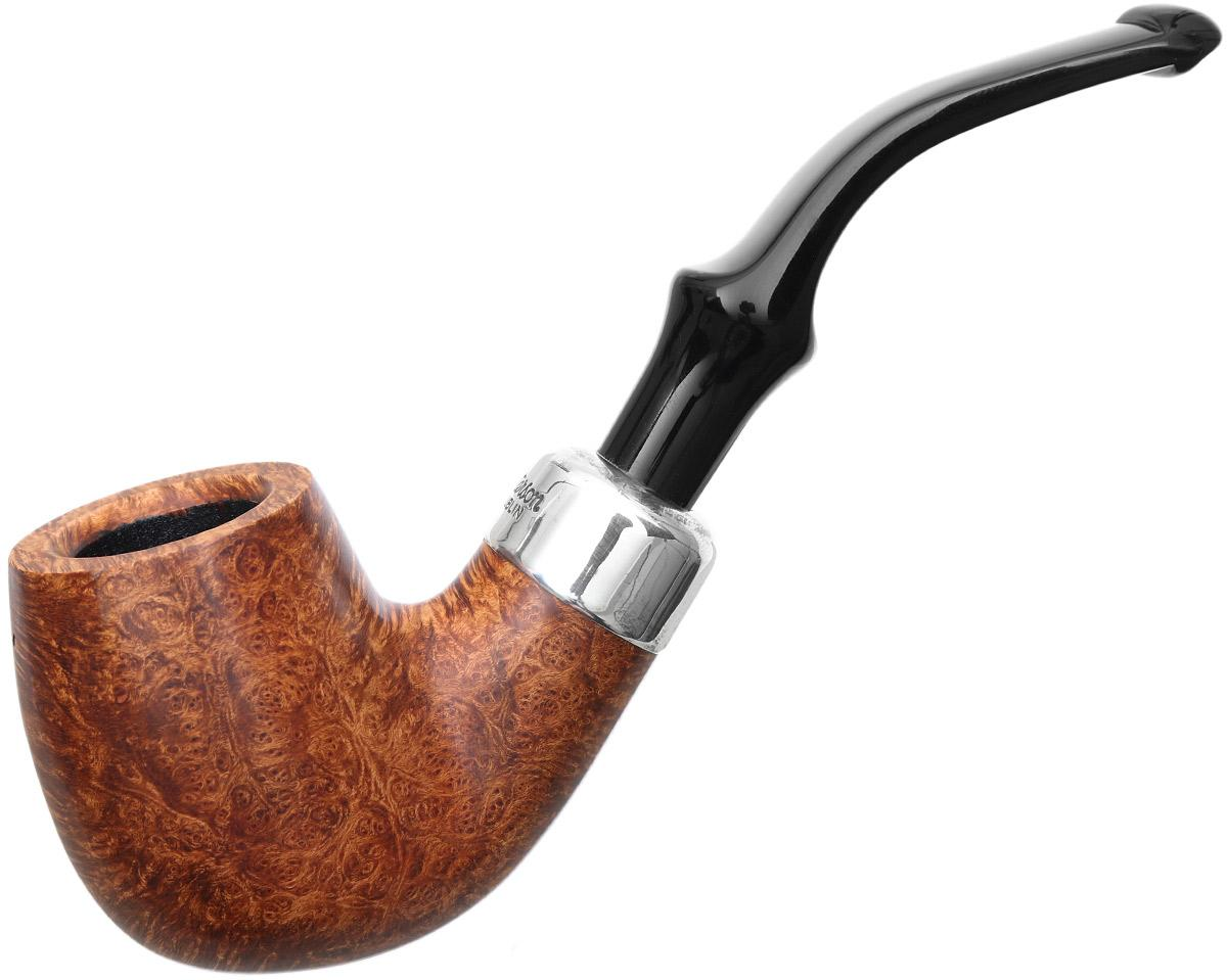 Irish Seconds Smooth Bent Billiard with Silver Army Mount P-Lip (2)