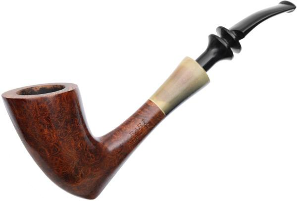 Danish Estates Bari De Luxe Smooth Bent Dublin with Horn