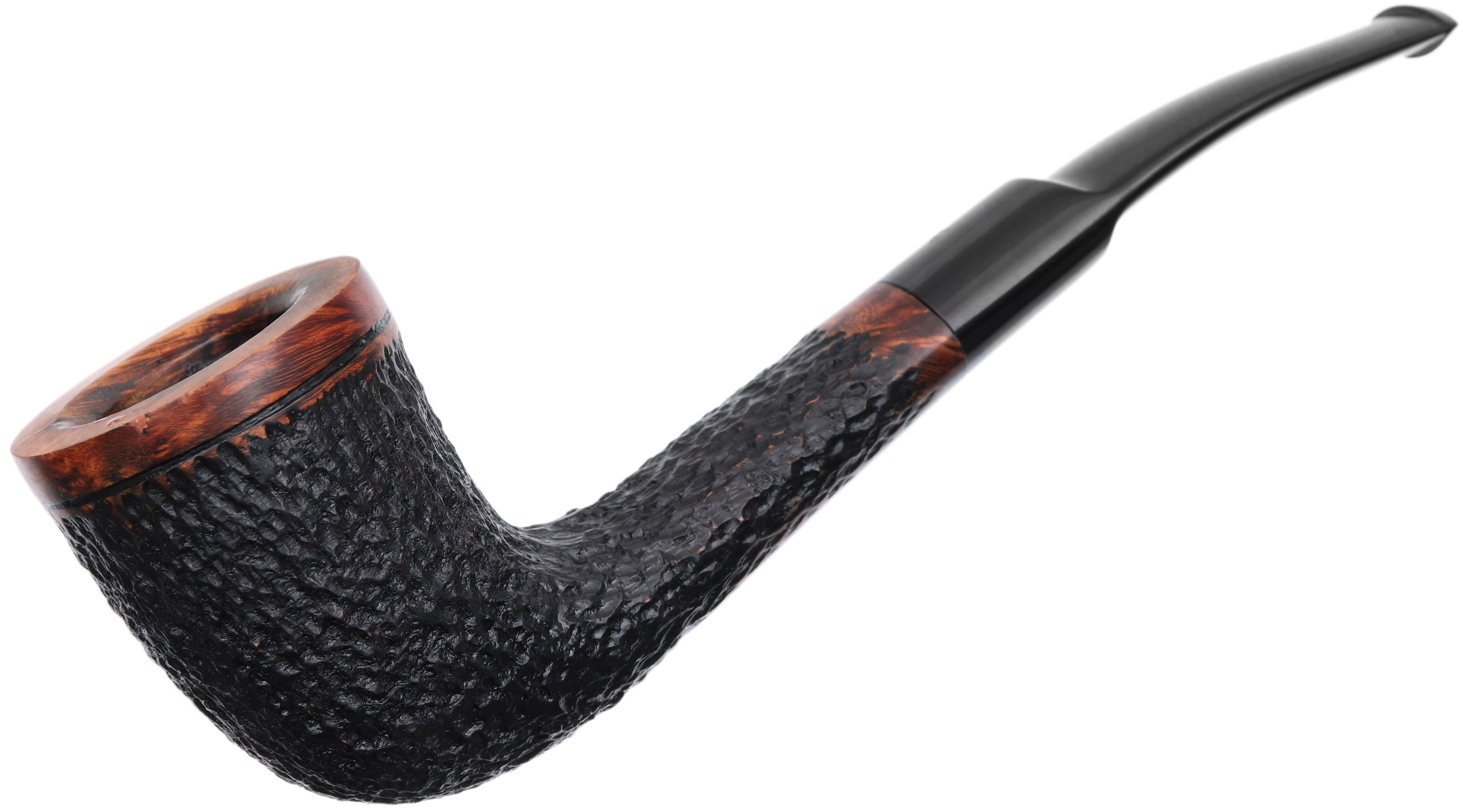 Misc. Estates Fumo Small Cut Partially Rusticated Bent Dublin (402)