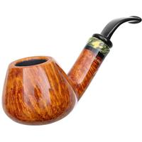Neerup P. Jeppesen Handmade Ida Easy Cut Smooth Bent Brandy (4)