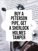 Buy a Peterson Pipe, Get a Free Tamper